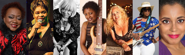 Big Eyed Blues Festival - Beareather Reddy,  Madame Pat Tandy, Sweet Georgia Brown, Regina Bonelli, Kim Clarke, B.B. Queen